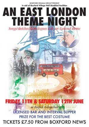AN EAST LONDON THEME NIGHT