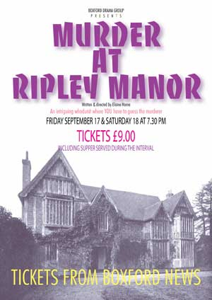 MURDER AT RIPLEY MANOR